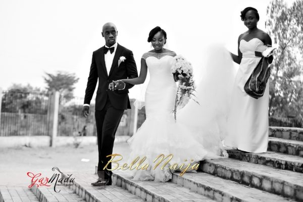 Chaiamaka & Ikenna White Igbo Wedding - in Anambra State, Nigeria. BellaNaija Weddings - Gazmadu Photography 39