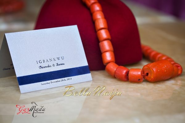 Chiamaka & Ikenna Traditional Igbo Wedding - Igba Nkwu in Anambra State, Nigeria. BellaNaija Weddings - Gazmadu Photography 0