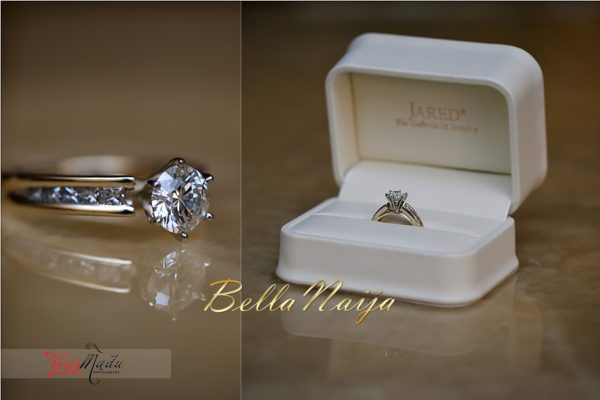 Camo Wedding Rings For Her And Him 40 Vintage BellaNaija Chiamaka u Ikenna