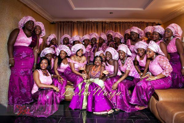 Chiamaka & Ikenna Traditional Igbo Wedding - Igba Nkwu in Anambra State, Nigeria. BellaNaija Weddings - Gazmadu Photography 24