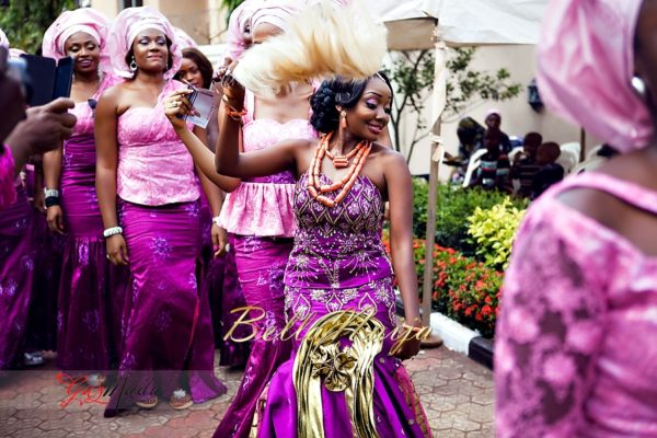 Chiamaka & Ikenna Traditional Igbo Wedding - Igba Nkwu in Anambra State, Nigeria. BellaNaija Weddings - Gazmadu Photography 28