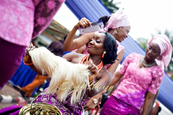 Chiamaka & Ikenna Traditional Igbo Wedding - Igba Nkwu in Anambra State, Nigeria. BellaNaija Weddings - Gazmadu Photography 29