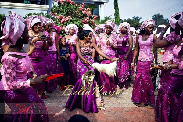 Chiamaka & Ikenna Traditional Igbo Wedding - Igba Nkwu in Anambra State, Nigeria. BellaNaija Weddings - Gazmadu Photography 30