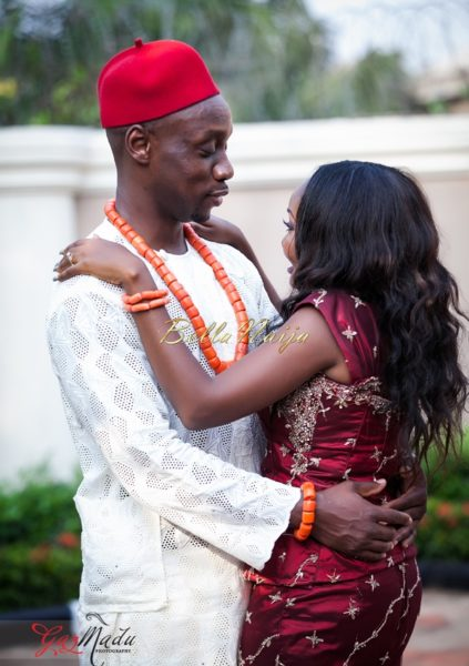 Chiamaka & Ikenna Traditional Igbo Wedding - Igba Nkwu in Anambra State, Nigeria. BellaNaija Weddings - Gazmadu Photography 36