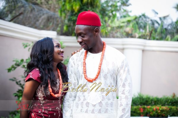 Chiamaka & Ikenna Traditional Igbo Wedding - Igba Nkwu in Anambra State, Nigeria. BellaNaija Weddings - Gazmadu Photography 39