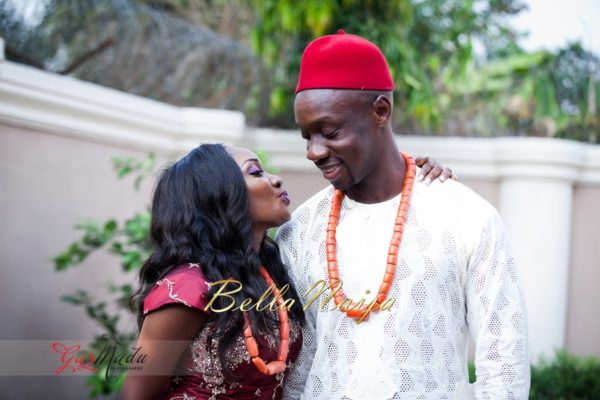 Chiamaka & Ikenna Traditional Igbo Wedding - Igba Nkwu in Anambra State, Nigeria. BellaNaija Weddings - Gazmadu Photography 40