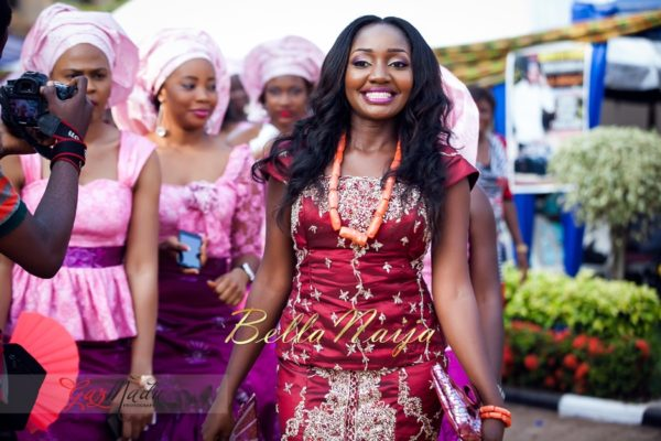Chiamaka & Ikenna Traditional Igbo Wedding - Igba Nkwu in Anambra State, Nigeria. BellaNaija Weddings - Gazmadu Photography 43