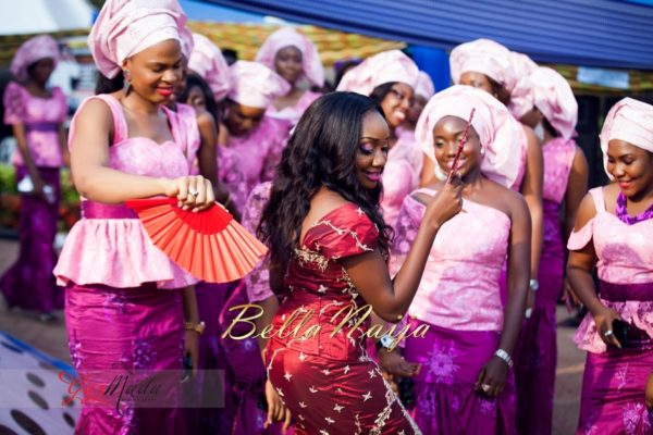 Chiamaka & Ikenna Traditional Igbo Wedding - Igba Nkwu in Anambra State, Nigeria. BellaNaija Weddings - Gazmadu Photography 45