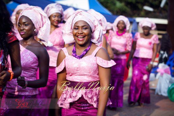 Chiamaka & Ikenna Traditional Igbo Wedding - Igba Nkwu in Anambra State, Nigeria. BellaNaija Weddings - Gazmadu Photography 46