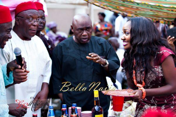 Chiamaka & Ikenna Traditional Igbo Wedding - Igba Nkwu in Anambra State, Nigeria. BellaNaija Weddings - Gazmadu Photography 48