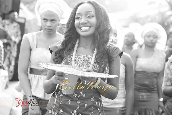 Chiamaka & Ikenna Traditional Igbo Wedding - Igba Nkwu in Anambra State, Nigeria. BellaNaija Weddings - Gazmadu Photography 49