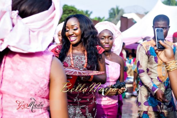 Chiamaka & Ikenna Traditional Igbo Wedding - Igba Nkwu in Anambra State, Nigeria. BellaNaija Weddings - Gazmadu Photography 51