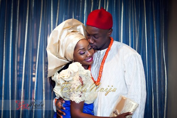 Chiamaka & Ikenna Traditional Igbo Wedding - Igba Nkwu in Anambra State, Nigeria. BellaNaija Weddings - Gazmadu Photography 59