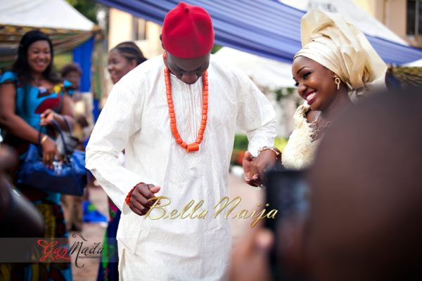 Chiamaka & Ikenna Traditional Igbo Wedding - Igba Nkwu in Anambra State, Nigeria. BellaNaija Weddings - Gazmadu Photography 61