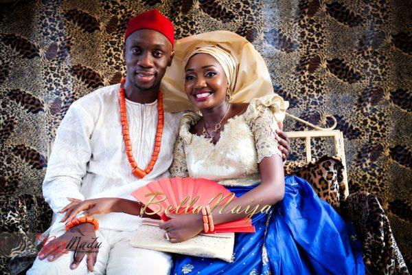 Chiamaka & Ikenna Traditional Igbo Wedding - Igba Nkwu in Anambra State, Nigeria. BellaNaija Weddings - Gazmadu Photography 65