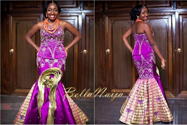 Chiamaka & Ikenna Traditional Igbo Wedding - Igba Nkwu in Anambra State, Nigeria. BellaNaija Weddings - Gazmadu Photography 69