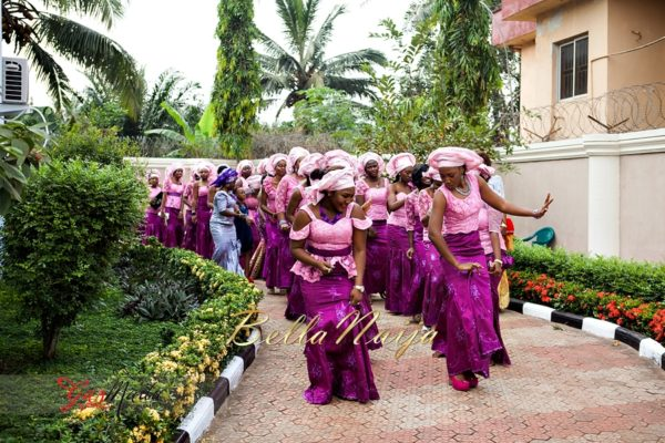 Chiamaka & Ikenna Traditional Igbo Wedding - Igba Nkwu in Anambra State, Nigeria. BellaNaija Weddings - Gazmadu Photography 73