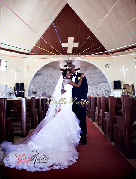 Chiamaka & Ikenna White Igbo Wedding - Igba Nkwu in Anambra State, Nigeria. BellaNaija Weddings - Gazmadu Photography 0
