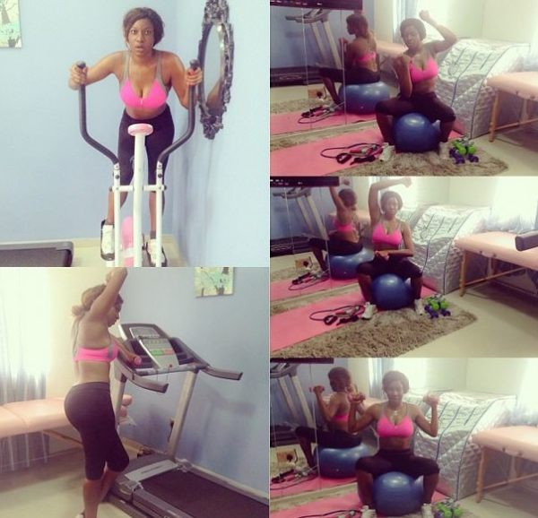 Chika Ike - Workout - February 2014 - BellaNaija 01