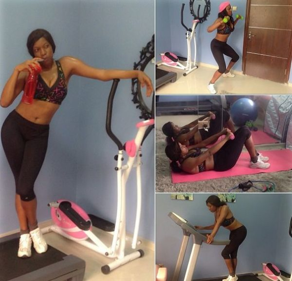 Chika Ike - Workout - February 2014 - BellaNaija 02