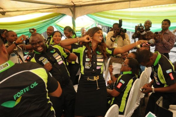 Forte Oil Unveils Tiwa Savage as Amnbassador and Launches New Package - BellaNaija - February2014011