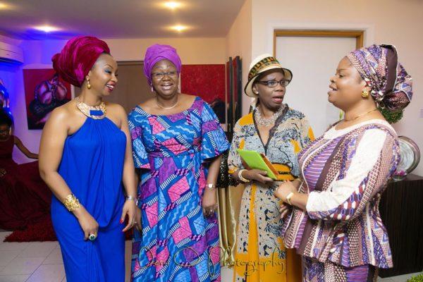 From Left-Ifeyinwa Ighodalo, Dame Abimbola Fashola, Dr Doyin Abiola & H.E Mrs Adejoke Adefulire