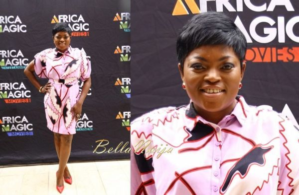 Funke Akindele and Mercy Aigbe Pixie Cut at AMVCA Brunch 2014 - BellaNaija - February 2014 (1)