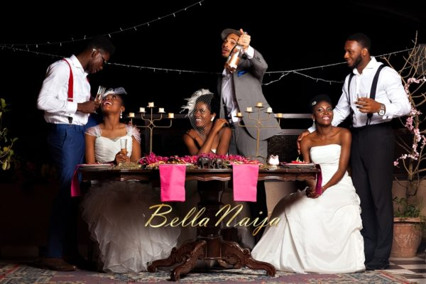 Gazmadu & Duduguy Styled Nigerian Wedding Photoshoot - BellaNaija - February 2014 -29