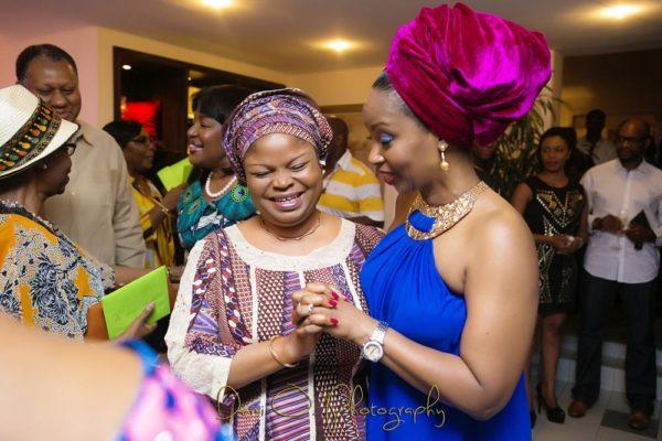 H.E Adejoke Adefulire, Deputy Governor Lagos State & Ifeyinwa Ighodalo
