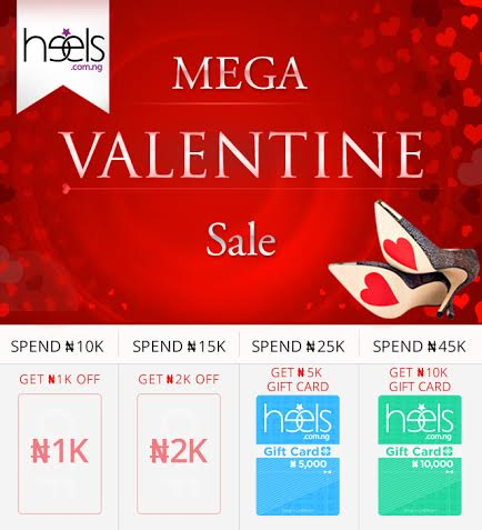 Heels.com.ng Mega Valentyine Sale - BellaNaija - February 2014