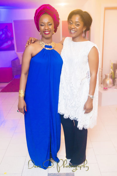 Ifeyinwa Ighodalo & Mrs Folake Folarin Coker - Founder Tiffany Amber Nigeria