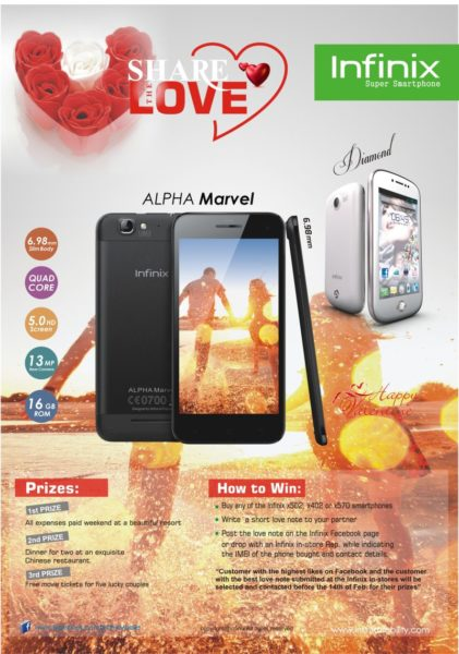 Infinix Mobility Launches Share the Love Valentines Promo (2)