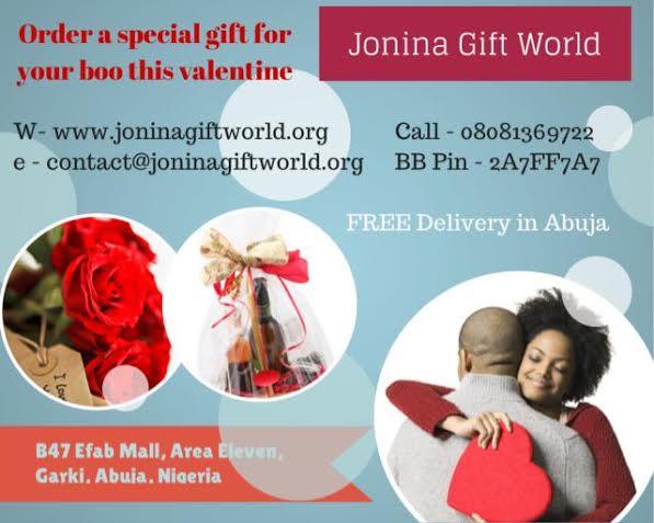 Jonina Gift World Valentine's Offer - BellaNaija - February 2014