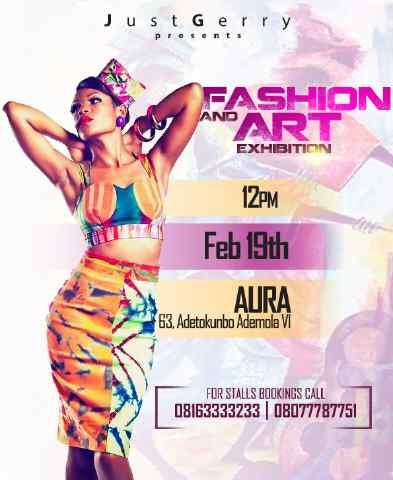 Justgerry fashion & Art Exhibition - BellaNaija - February - 2014