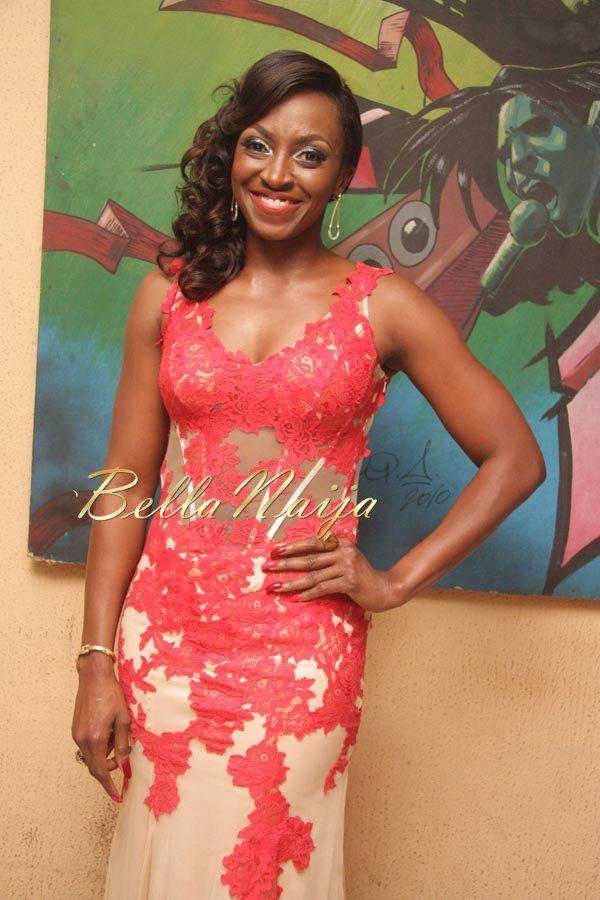 Kate Henshaw in Jovani - Nigeria's Got Talent Season 2