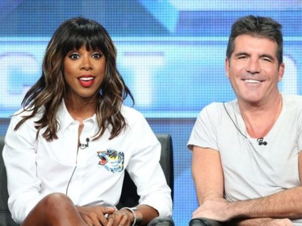 Kelly Rowland & Simon Cowell - February 2014 - BellaNaija