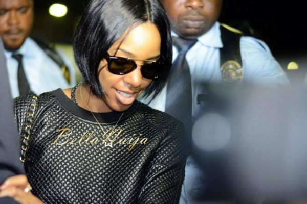 Kelly Rowland in Lagos for Love Like a Movie Concert  - February 2014 - BellaNaija - 023