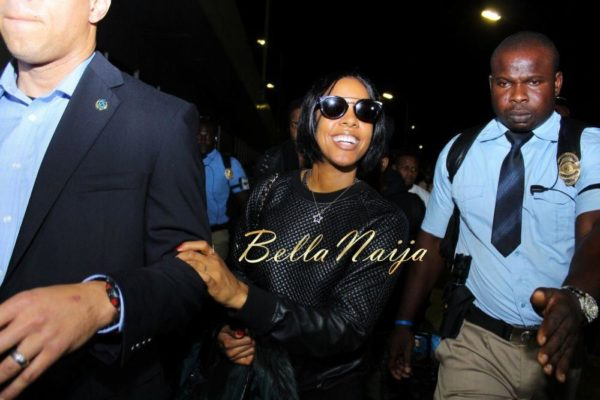 Kelly Rowland in Lagos for Love Like a Movie Concert  - February 2014 - BellaNaija - 029