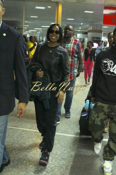 Kelly Rowland in Lagos for Love Like a Movie Concert  - February 2014 - BellaNaija - 030