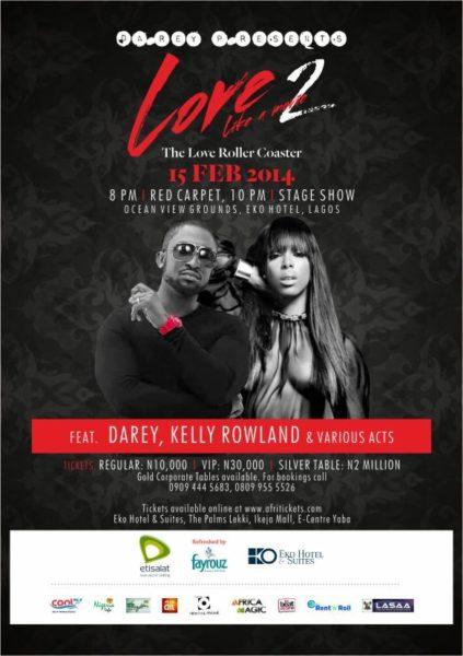 Love Like A Movie 2 with Kelly Rowland - Bellanaija - February 2014