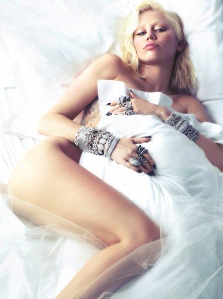 Miley Cyrus for W Magazine - BellaNaija - February 2014002