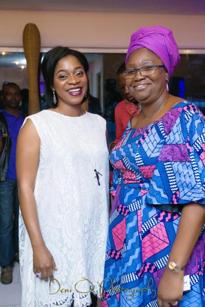 Mrs Folake Folarin Coker - Founder Tiffany Amber Nigeria & Dame Abimbola Fashola - First Lady Lagos State