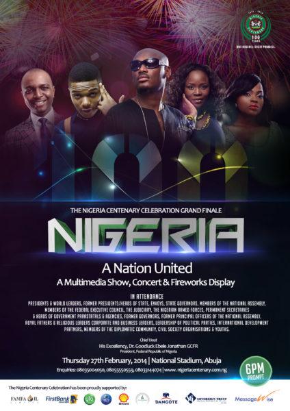 Nigeria Centenary Celebration Grand Finale - BellaNaija - February - 2014