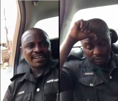 Nigerian Police Officer - February 2014 - BellaNaija