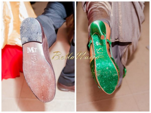 Nigerian Wedding Inspiration - BellaNaija Weddings -mr and mrs shoes