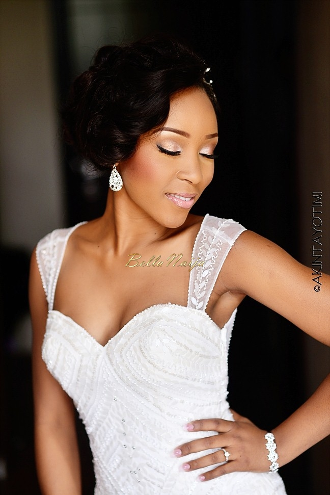 Naija White Wedding Makeup : In Lovers Land: Lani and Deji Wed AkinTayoTimi - BellaNaija