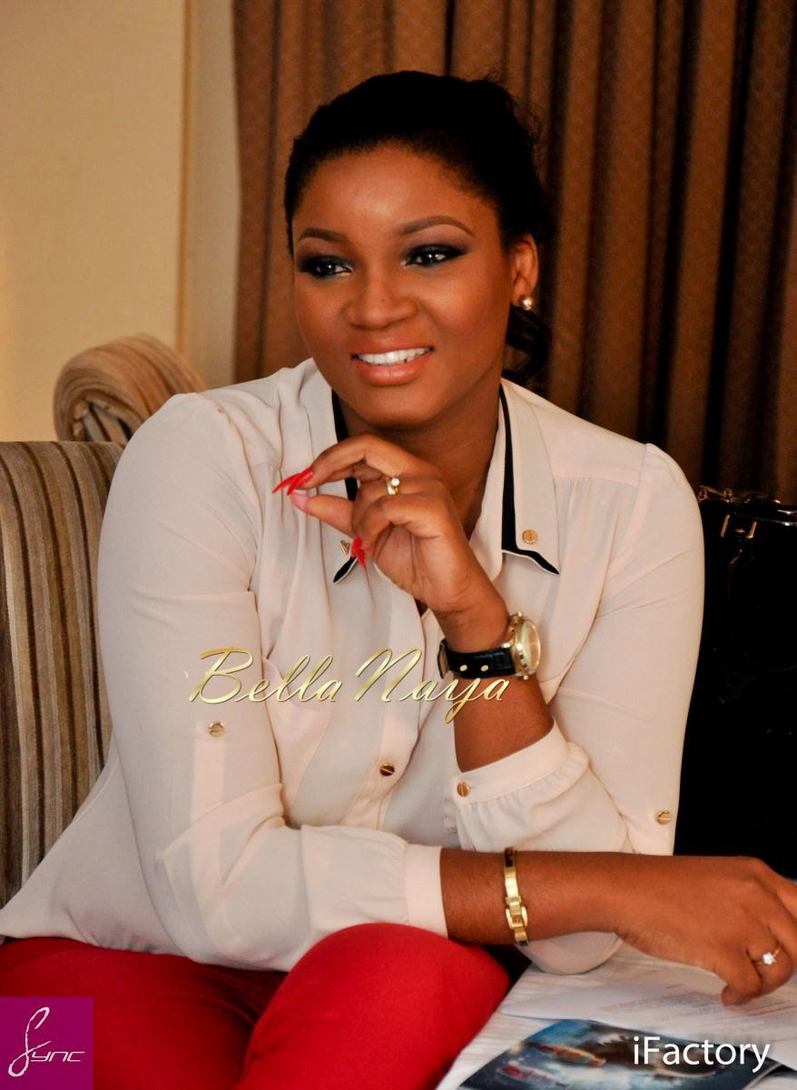 Omotola Jalade-Ekeinde is the face of Ghandour Cosmetics - February    Omotola Jalade Ekeinde 2014