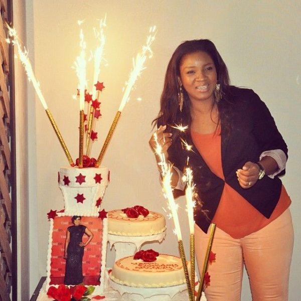 Omotola Jalade-Ekeinde's 36th in Ghana - February 2014 - BellaNaija - 026