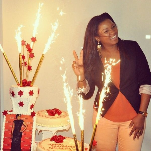 Omotola Jalade-Ekeinde's 36th in Ghana - February 2014 - BellaNaija - 029