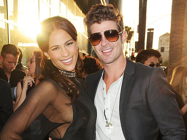 Paula Patton & Robin Thicke - February 2014 - BellaNaija 01